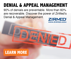 Denial & Appeal Management - ZirMed